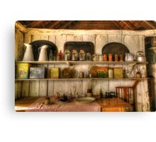 In the Kitchen. Canvas Print
