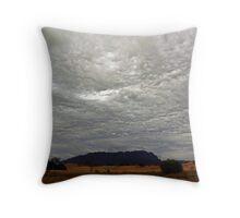 Roland Skies Throw Pillow