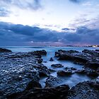 Almost sunrise @ Currumbin by Brent Randall