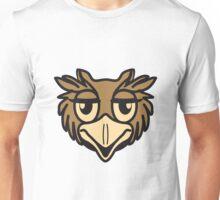 OWL bird head uhu cool comic Unisex T-Shirt