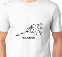Thanks Ants.  Thants. (Black) Unisex T-Shirt
