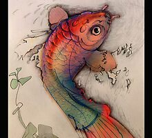 Waterfall Fish by David McBurney