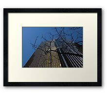 Toronto's Golden Bank - Royal Bank Plaza Downtown Framed Print