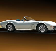 1972 Chevrolet C3 Corvette Convertible by DaveKoontz