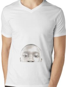the ghost of beauty Mens V-Neck T-Shirt