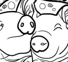 Piggy Pals Sticker
