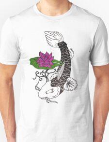 Koi Fish & Water Lily T-Shirt