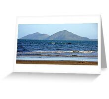 Dunk Island - from North Mission Beach Greeting Card