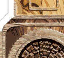 Wood Hassel Sticker