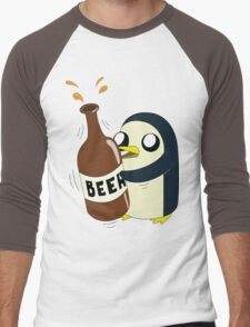 Gunter Loves Beer Men's Baseball ¾ T-Shirt