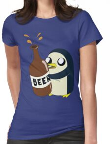 Gunter Loves Beer Womens Fitted T-Shirt