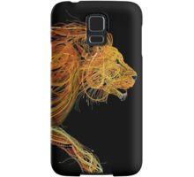 Wire Lion Samsung Galaxy Case/Skin
