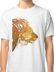 Wire Lion Classic T-Shirt