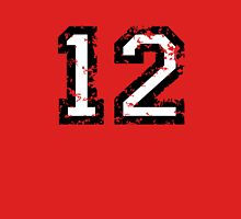 Number Twelve - No. 12 (two-color) white Unisex T-Shirt