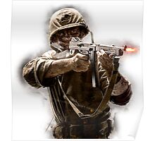 Call Of Duty WAW Poster