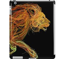 Wire Lion iPad Case/Skin