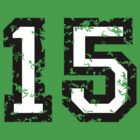 Number Fifteen - No. 15 (two-color) white by theshirtshops