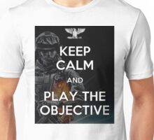 Keep Calm and Play the Objective Unisex T-Shirt
