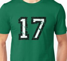The Number Seventeen - No. 17 (two-color) white Unisex T-Shirt