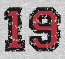 Number Nineteen - No. 19 (two-color) red Kids Clothes