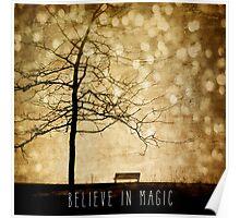 Beleive In Magic Poster