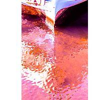 Ein Schiff am Wannsee Photographic Print