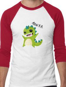 RAAAAWWWWRRRR!! Men's Baseball ¾ T-Shirt