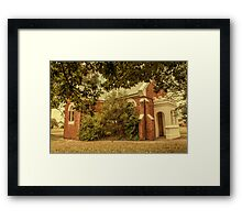 St Mary's Anglican Church (1906), Dardanup, Western Australia Framed Print