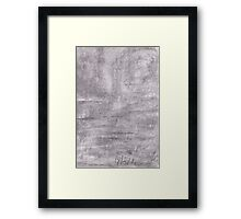 dark seascape Framed Print