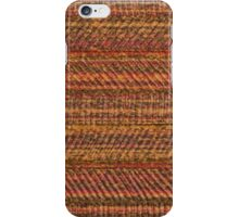 Brown vinyl texture iPhone Case/Skin