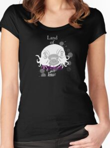 Land of Eldritch and Fear Women's Fitted Scoop T-Shirt