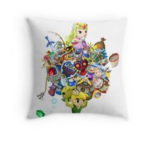 Link takes it all Throw Pillow