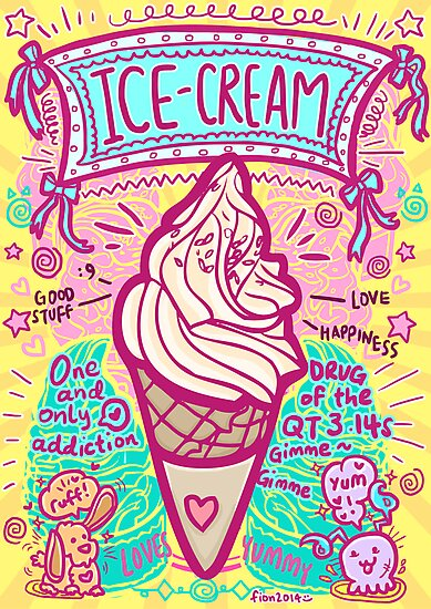 Ice Cream by fionfairyland