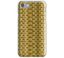 Green vinyl texture iPhone Case/Skin