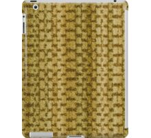 Green vinyl texture iPad Case/Skin