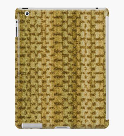 Green vinyl texture iPad Case/Skin