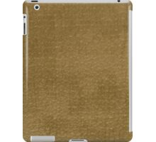 Yellow vinyl texture iPad Case/Skin