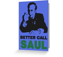 Better Call Saul (Blue) Greeting Card