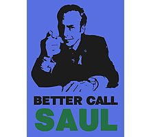Better Call Saul (Blue) Photographic Print