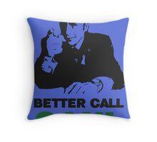 Better Call Saul (Blue) Throw Pillow