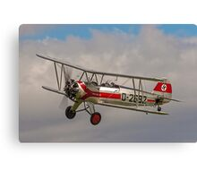 Focke-Wulf Fw-44j Stieglitz D-2692/G-STIG Canvas Print