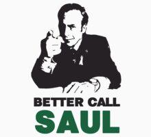 Better Call Saul (White) T-Shirt