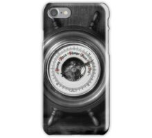 Olde Barometer iPhone Case/Skin