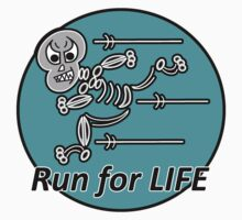 Run for Life T-shirt by sdesiata