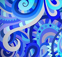 Blue Pattern by lolftw