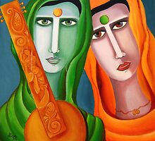 Two Women in Search of Music by DivyaKakkar