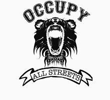 Occupy All Streets Black Unisex T-Shirt