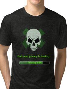 Skull Network Tri-blend T-Shirt