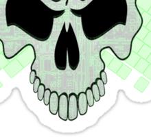 Skull Network Sticker