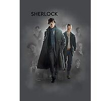 BBC Sherlock Photographic Print